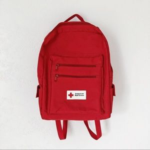 Vintage Red Cross Backpack